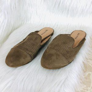 Call It Spring Taupe Slip-On Flats